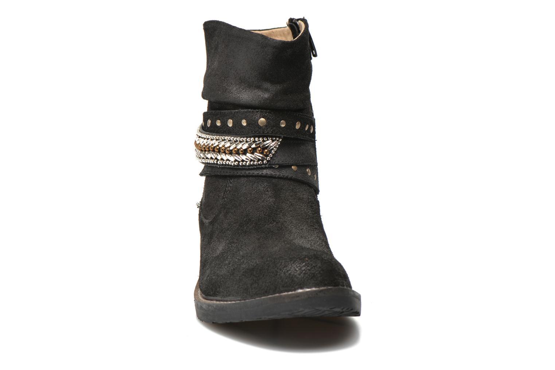 Bottines et boots Bopy Hajer SK8 Noir vue portées chaussures