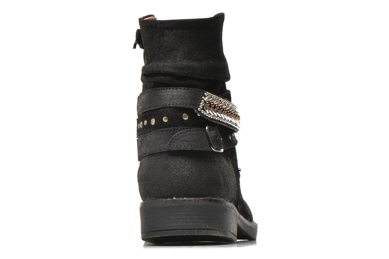 Bottines et boots Bopy Hajer SK8 Noir vue droite