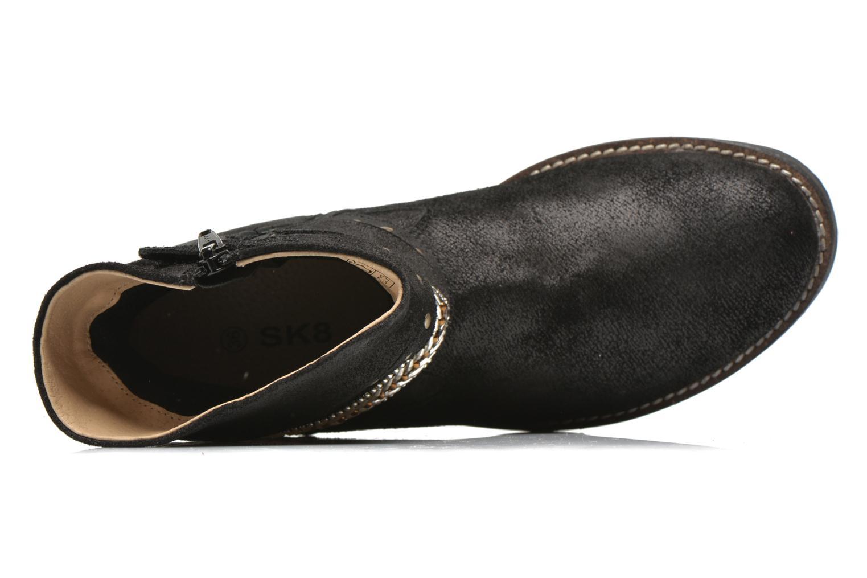 Bottines et boots Bopy Hajer SK8 Noir vue gauche