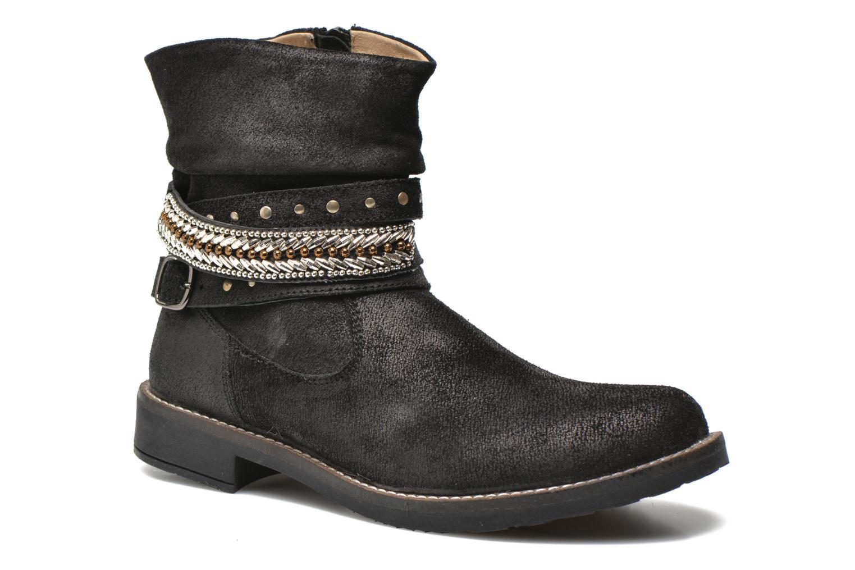 Bottines et boots Bopy Hajer SK8 Noir vue détail/paire