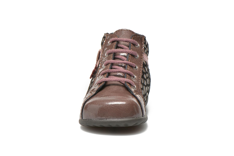 Bottines et boots Bopy Zeaba Rose vue portées chaussures