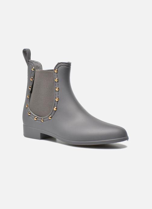 Bottines et boots Be Only Angy Mat Gris vue détail/paire