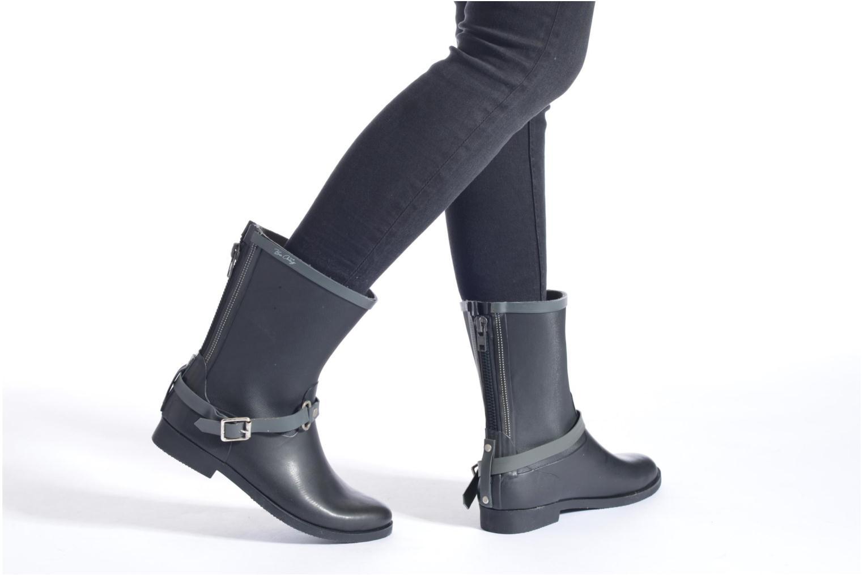 Bottines et boots Be Only Jen Noir vue bas / vue portée sac