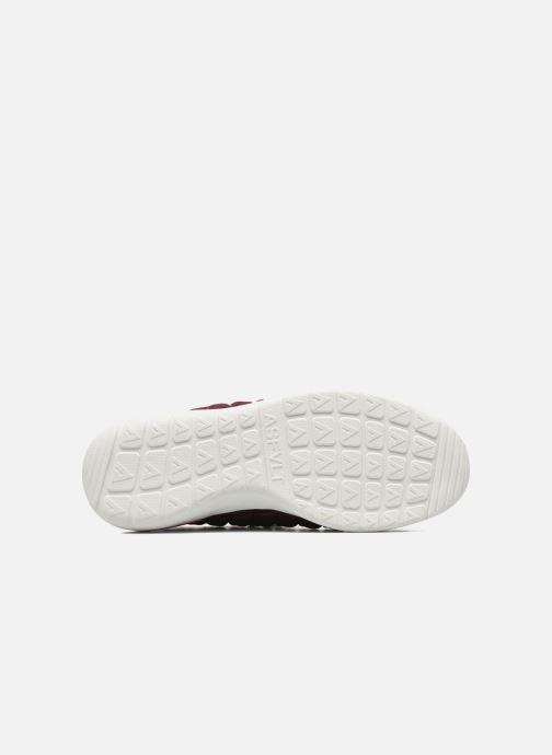 Baskets Asfvlt Speed Socks W Bordeaux vue haut