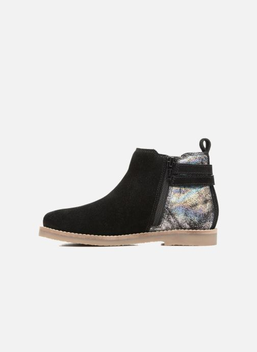 Ankle boots I Love Shoes KELINE Leather Black front view