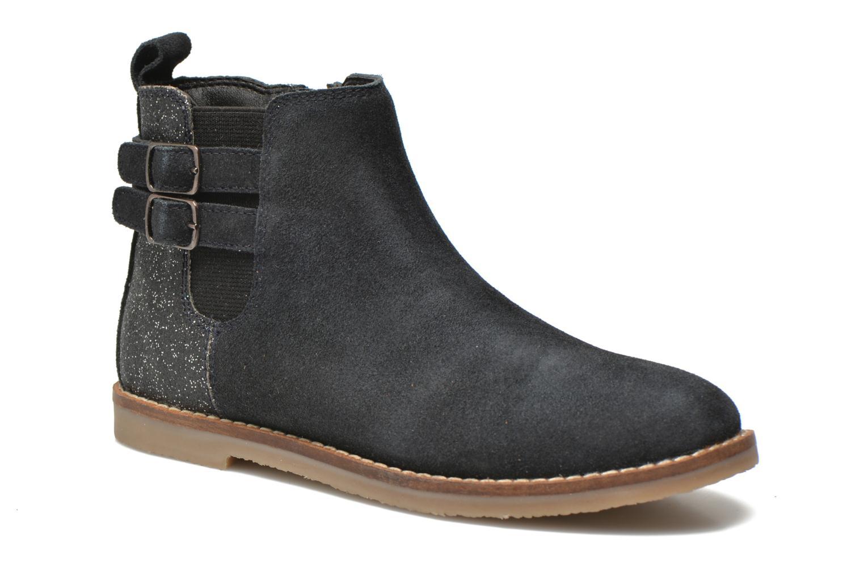 Bottines et boots I Love Shoes KELINE Leather Bleu vue détail/paire