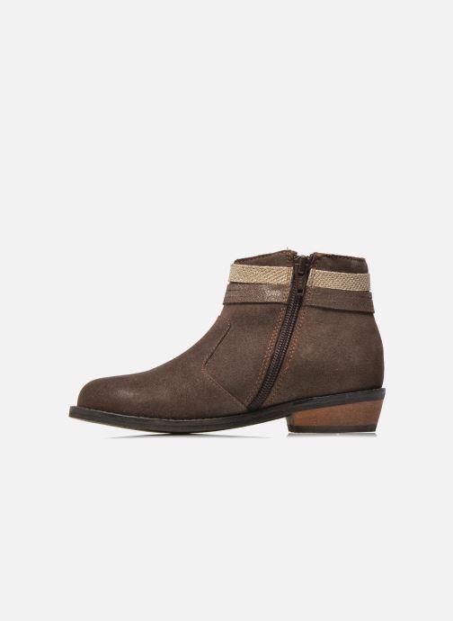Botines  I Love Shoes KEPHYRS Leather Marrón vista de frente