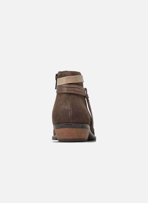 Boots en enkellaarsjes I Love Shoes KEPHYRS Leather Bruin rechts