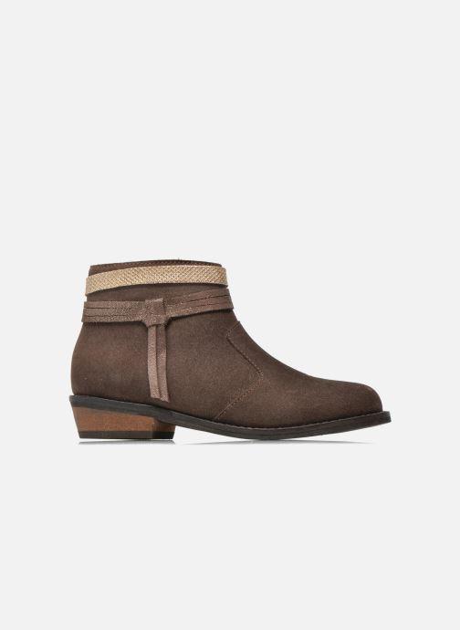 Botines  I Love Shoes KEPHYRS Leather Marrón vistra trasera