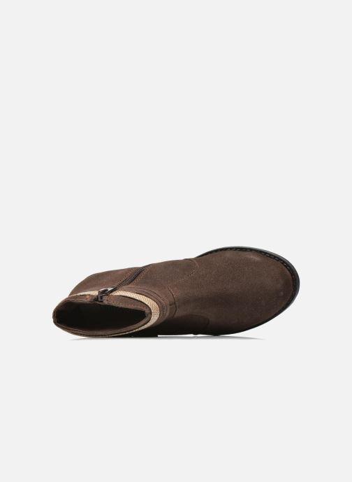 Botines  I Love Shoes KEPHYRS Leather Marrón vista lateral izquierda