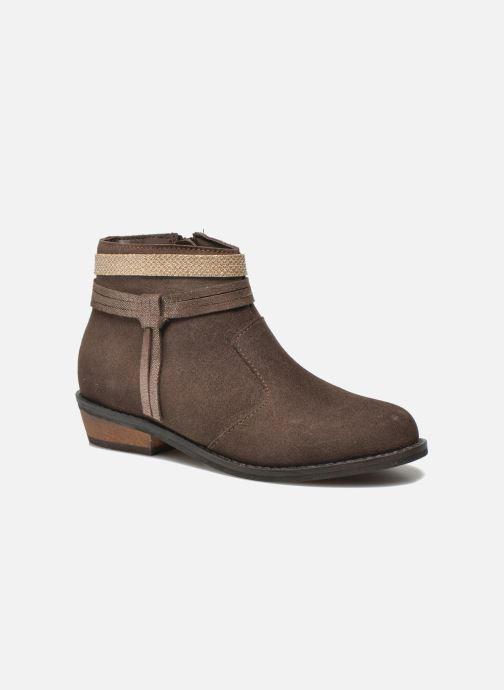 Botines  I Love Shoes KEPHYRS Leather Marrón vista de detalle / par