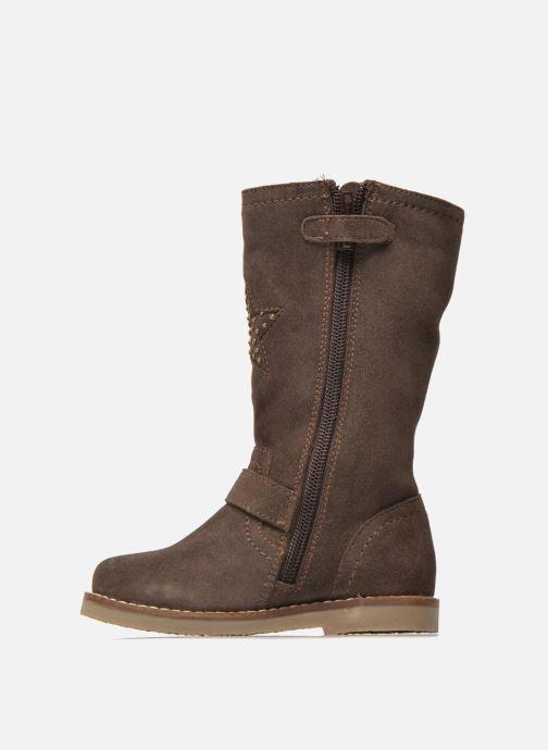 Botas I Love Shoes KEIRINS Marrón vista de frente