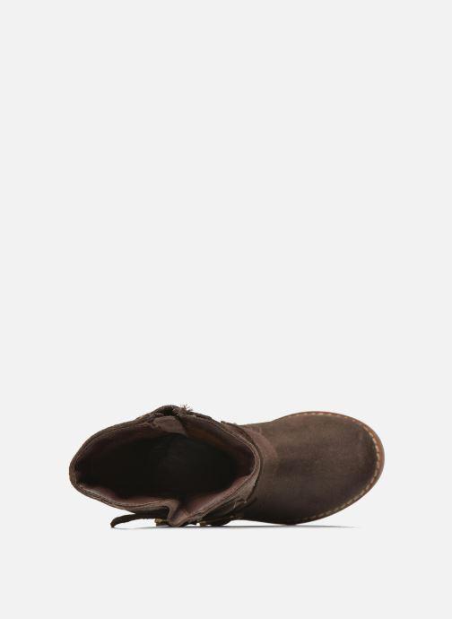 Botas I Love Shoes KEIRINS Marrón vista lateral izquierda