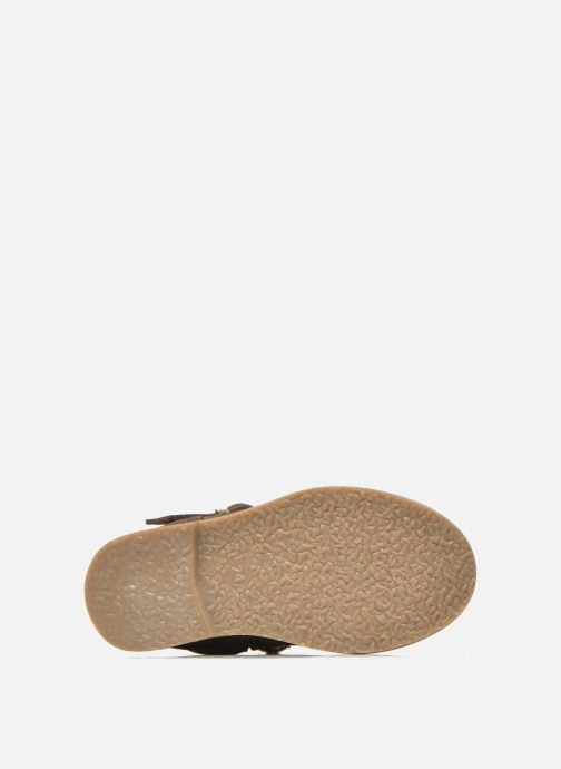 Botas I Love Shoes KEIRINS Marrón vista de arriba