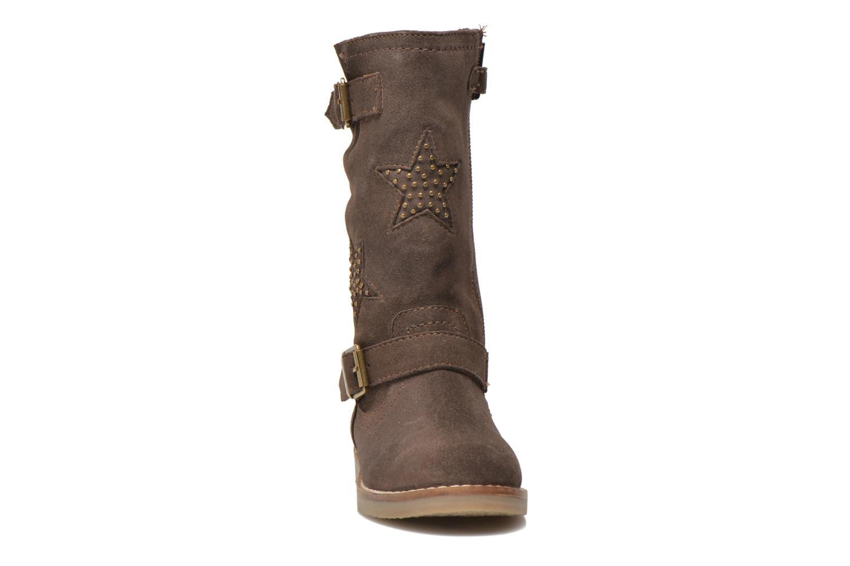 Bottes I Love Shoes KEIRINS Marron vue portées chaussures