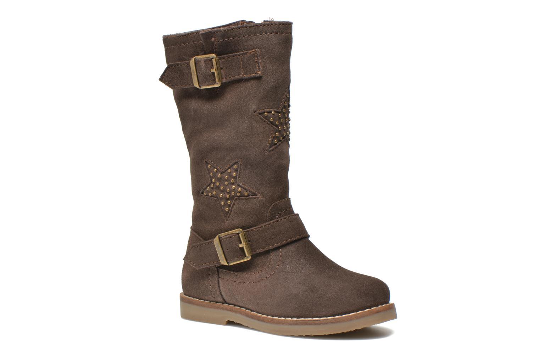 Bottes I Love Shoes KEIRINS Marron vue détail/paire