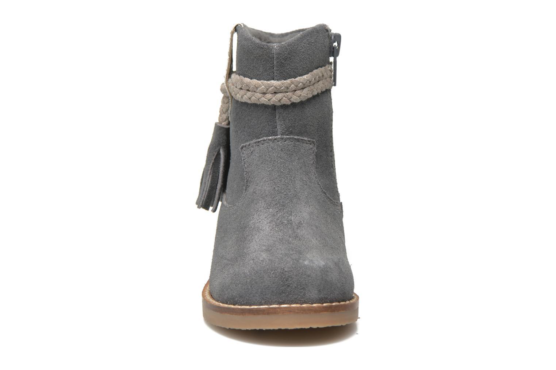 Stivaletti e tronchetti I Love Shoes KERRIES Leather Grigio modello indossato