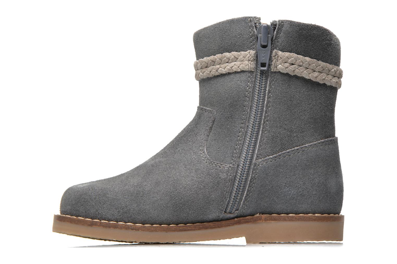 Boots I Love Shoes KERRIES Leather Grå bild från framsidan