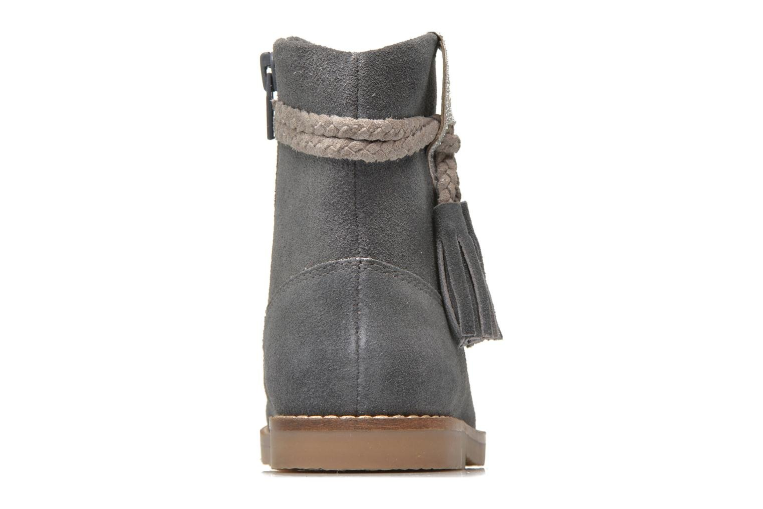 Botines  I Love Shoes KERRIES Leather Gris vista lateral derecha
