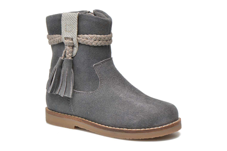 Boots I Love Shoes KERRIES Leather Grå detaljerad bild på paret