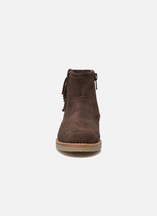 Botines  I Love Shoes KERABAU Leather Marrón vista del modelo