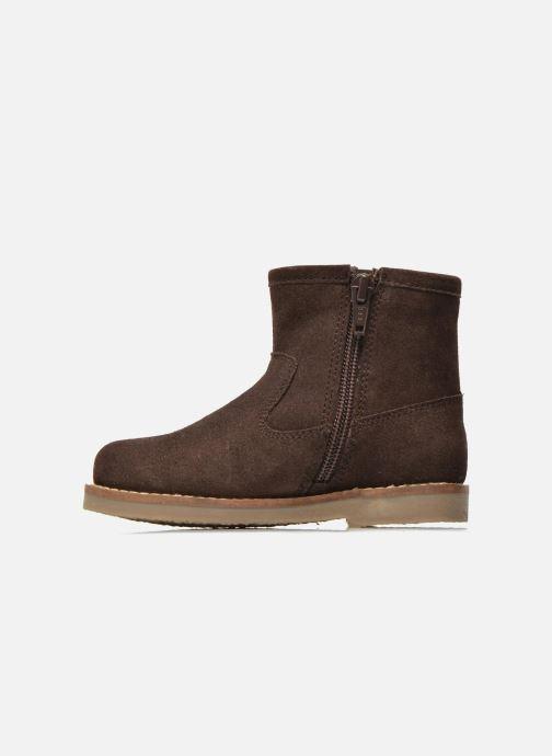 Bottines et boots I Love Shoes KERABAU Leather Marron vue face