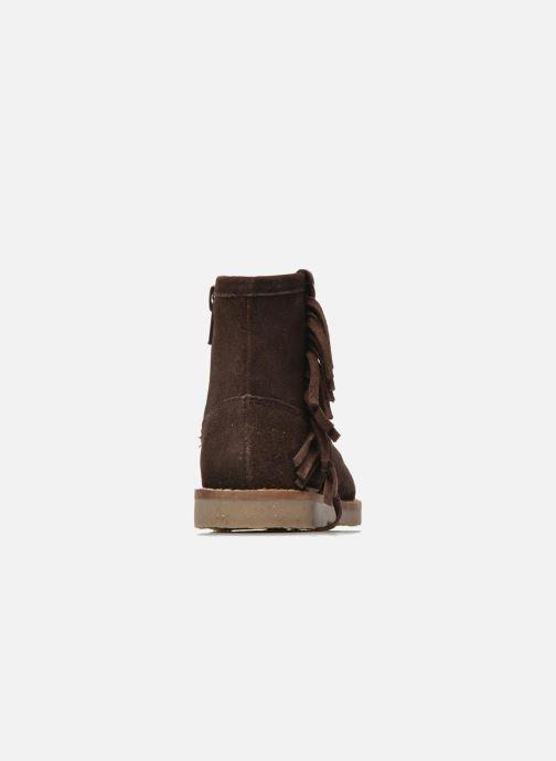 Botines  I Love Shoes KERABAU Leather Marrón vista lateral derecha