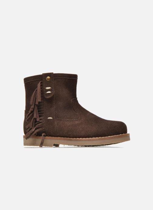 Botines  I Love Shoes KERABAU Leather Marrón vistra trasera