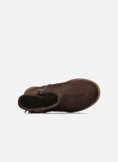 Botines  I Love Shoes KERABAU Leather Marrón vista lateral izquierda