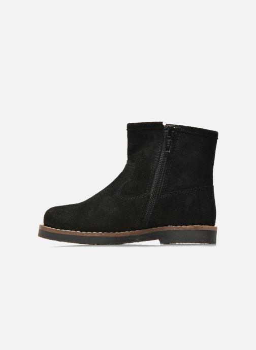 Botines  I Love Shoes KERABAU Leather Negro vista de frente