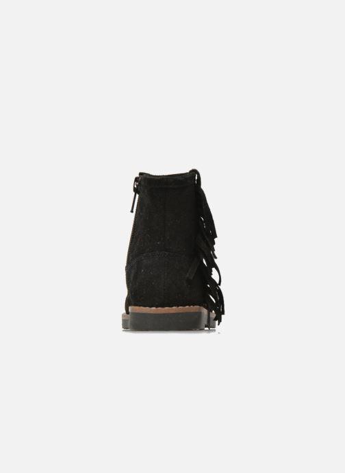 Botines  I Love Shoes KERABAU Leather Negro vista lateral derecha