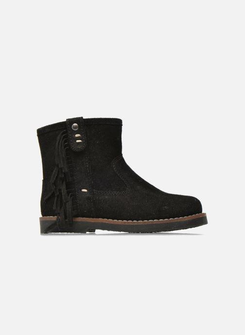 Botines  I Love Shoes KERABAU Leather Negro vistra trasera