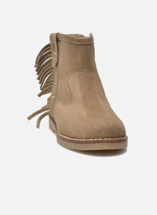 Botines  I Love Shoes KERABAU Leather Beige vista del modelo