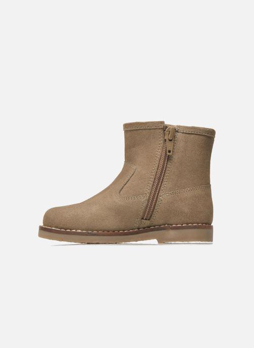 Botines  I Love Shoes KERABAU Leather Beige vista de frente
