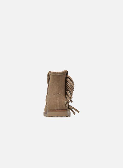 Botines  I Love Shoes KERABAU Leather Beige vista lateral derecha