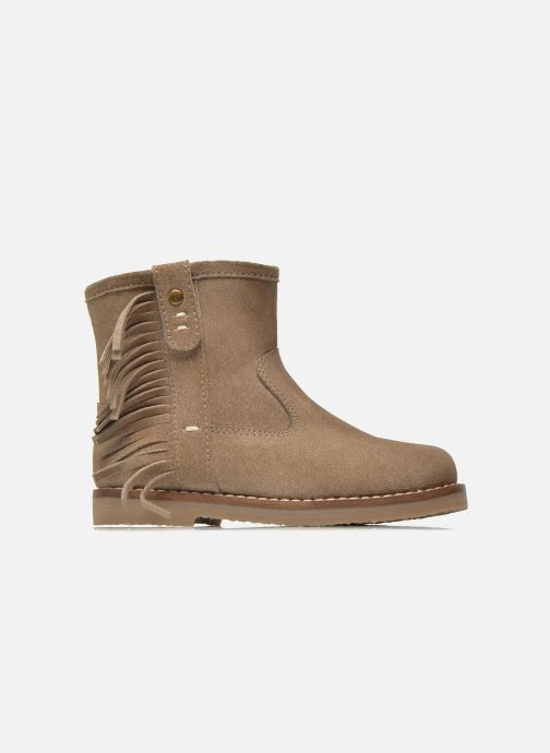 Botines  I Love Shoes KERABAU Leather Beige vistra trasera