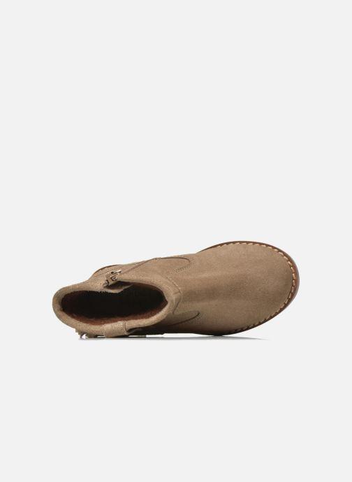 Botines  I Love Shoes KERABAU Leather Beige vista lateral izquierda