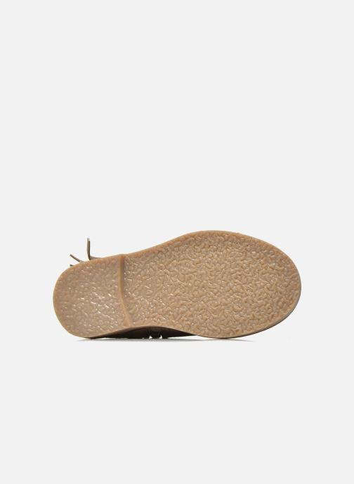 Botines  I Love Shoes KERABAU Leather Beige vista de arriba