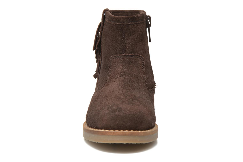 Bottines et boots I Love Shoes KERABAU Leather Marron vue portées chaussures