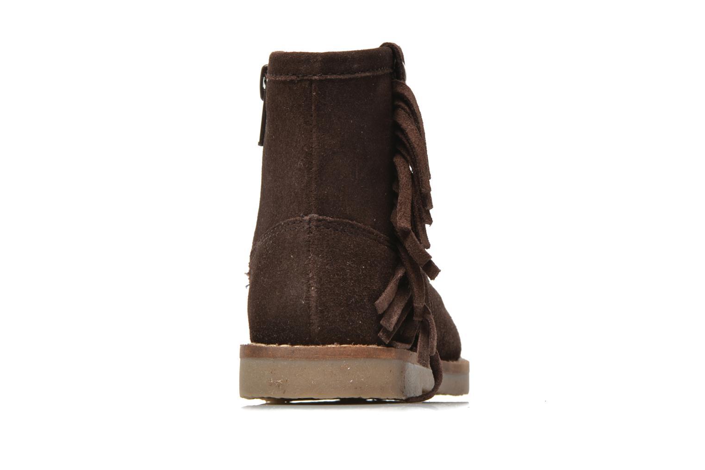 Bottines et boots I Love Shoes KERABAU Leather Marron vue droite
