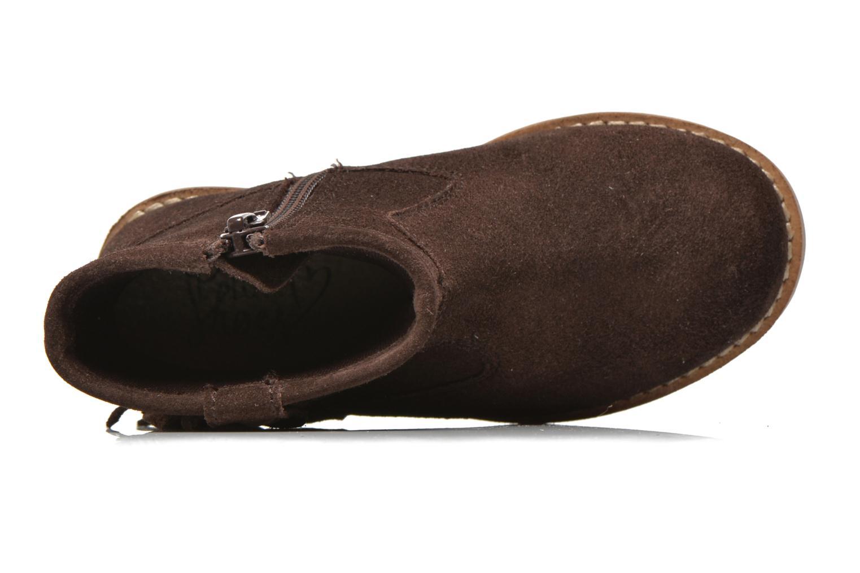 Bottines et boots I Love Shoes KERABAU Leather Marron vue gauche