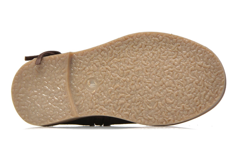 Bottines et boots I Love Shoes KERABAU Leather Marron vue haut