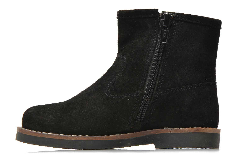 Bottines et boots I Love Shoes KERABAU Leather Noir vue face