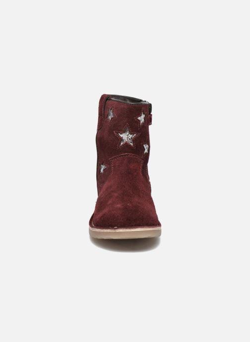 Bottines et boots I Love Shoes KETMIES Leather Bordeaux vue portées chaussures