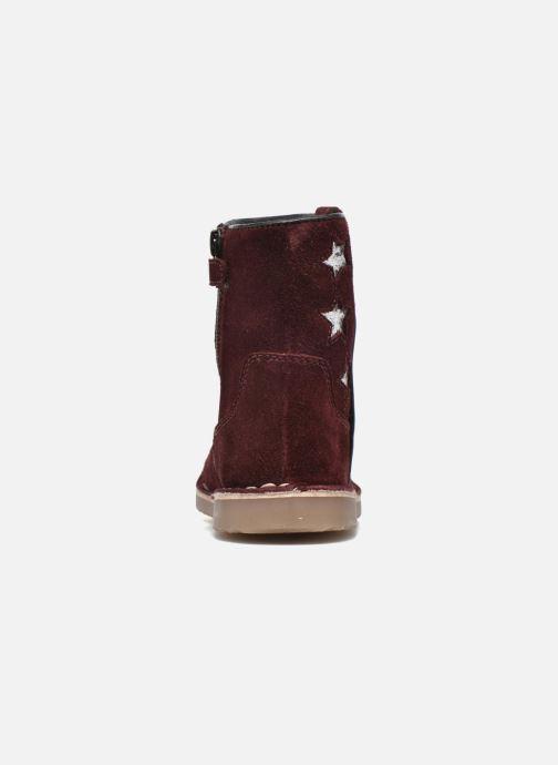 Botines  I Love Shoes KETMIES Leather Vino vista lateral derecha