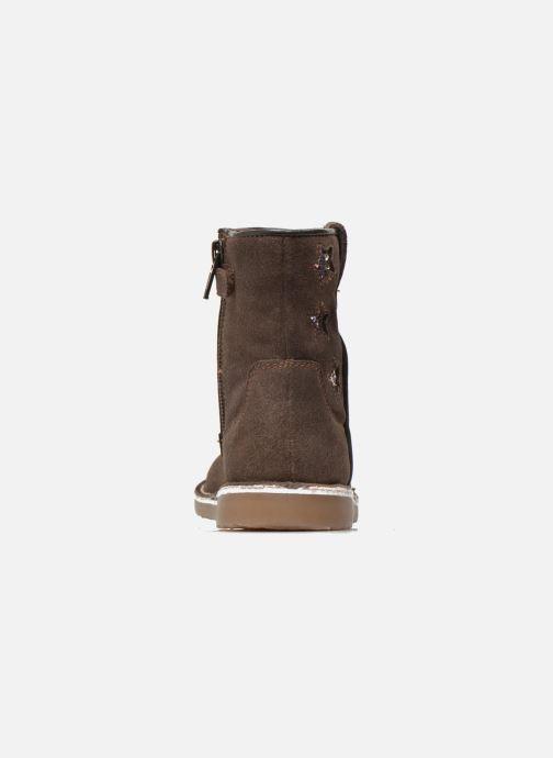 Botines  I Love Shoes KETMIES Leather Marrón vista lateral derecha
