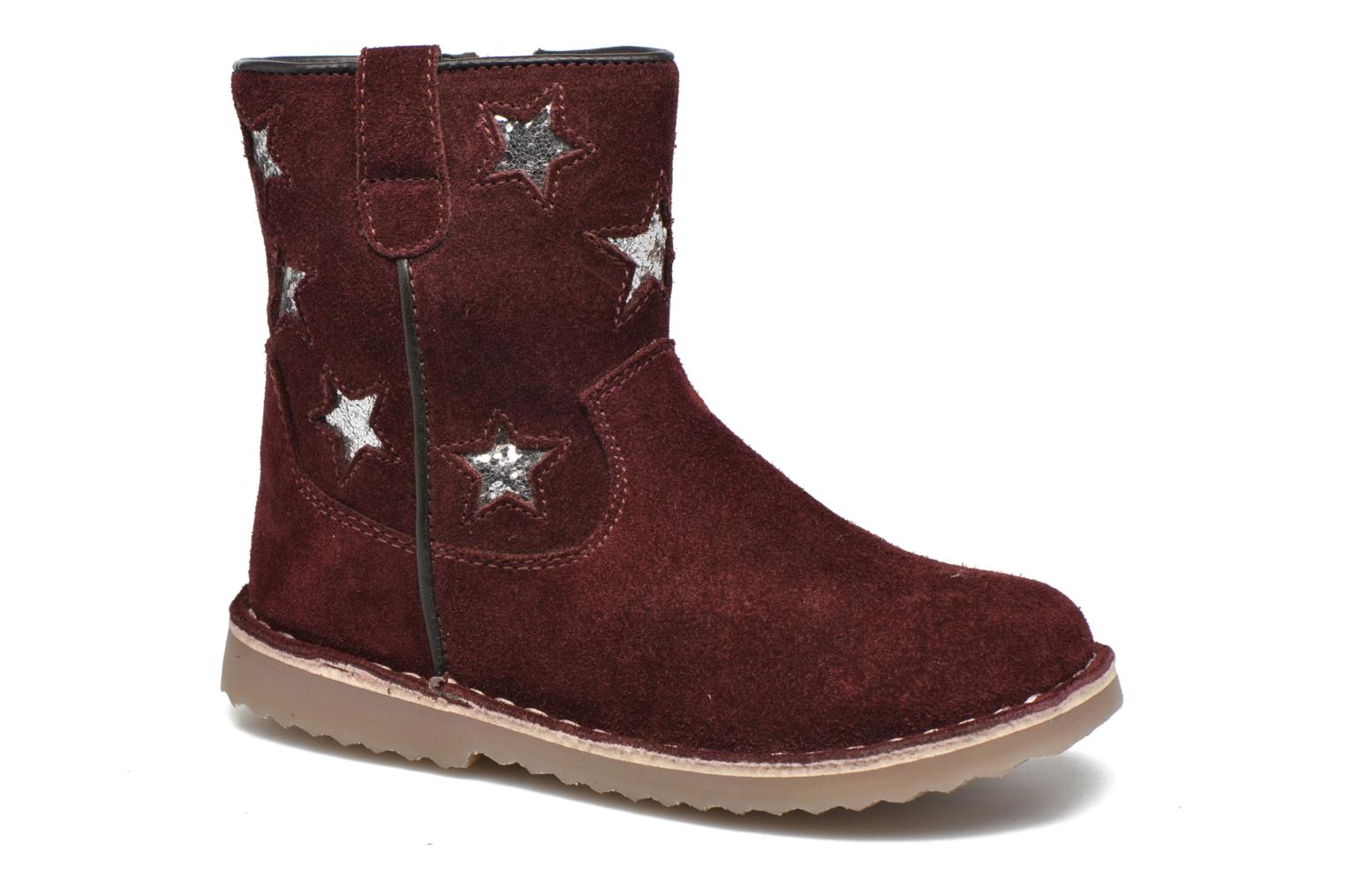 Ankle boots I Love Shoes KETMIES Leather Burgundy detailed view/ Pair view