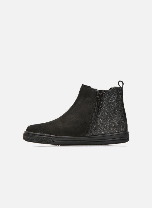 Boots en enkellaarsjes I Love Shoes KENTIAS Leather Zwart voorkant