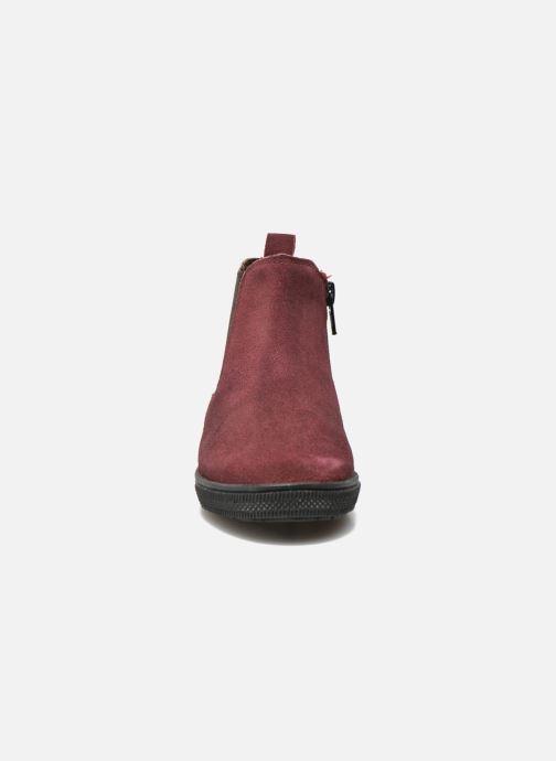 Bottines et boots I Love Shoes KENTIAS Leather Bordeaux vue portées chaussures