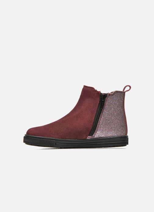 Bottines et boots I Love Shoes KENTIAS Leather Bordeaux vue face